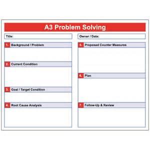 a3 problem solving erase board visual workplace inc