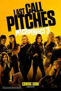 what movies are out pitch perfect 3 by ruby rose pitch perfect 3 movie poster