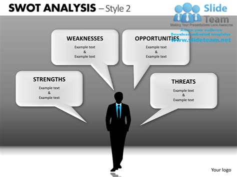 Swot Analysis Style 2 Powerpoint Presentation Slides Db Ppt Slides 2