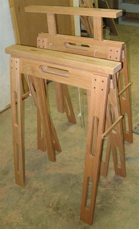 folding sawhorse plans  woodworking projects plans