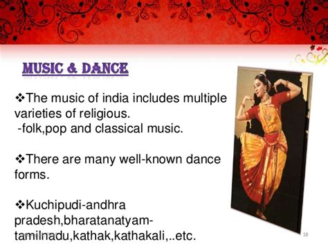 Indian Art Culture Heritage Ppt On Indian Culture