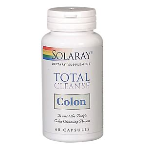 Vitaminshoppe Detox 1 by Total Cleanse Colon 60 Capsules By Solaray At The