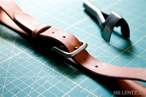 how to make a leather belt mr lentz leather goods
