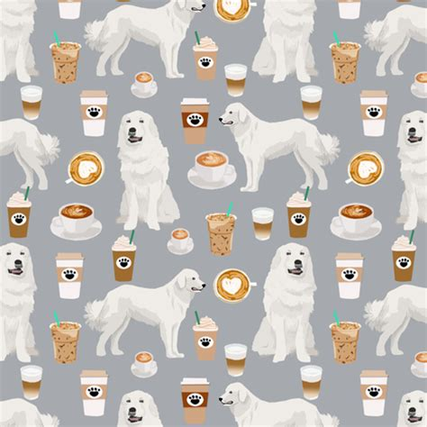 best material for dogs great pyrenees fabric coffees and dogs fabric best quilting fabrics great