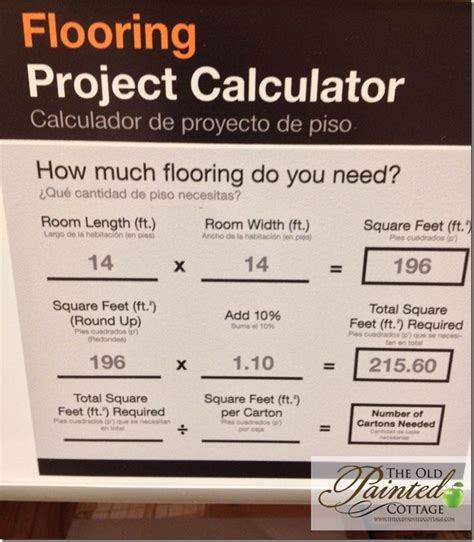 flooring calculator divine darling pinterest