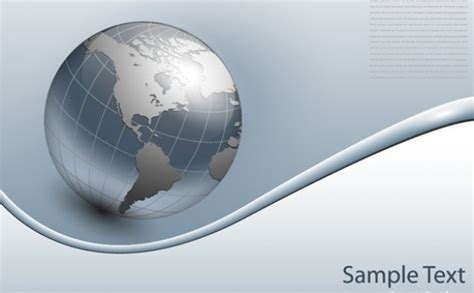 grey earth wallpaper clean grey globe business vector background welovesolo