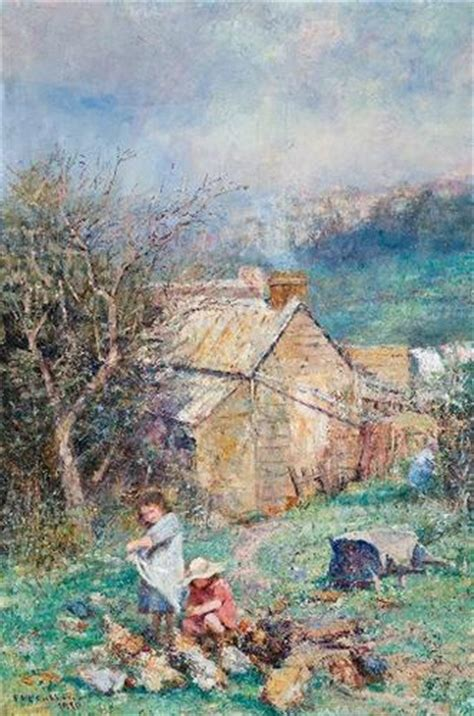 Cottage Frederick by The Cottage Children And Frederick Mccubbin Wikiart Org