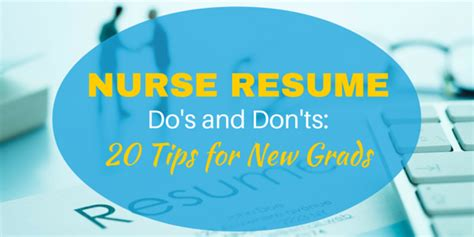 Resume Tips Do S And Don Ts Resume Do S And Don Ts 20 Tips For New Grads