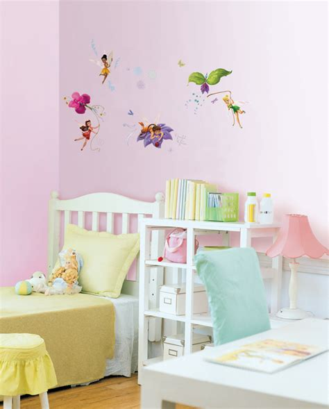 tinkerbell wall sticker disney fairies spiral wings tinkerbell wall stickers