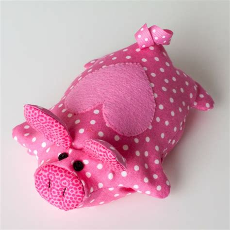 stuffed animal bean bag pattern piggy free pattern diy with fabric stuffed animals