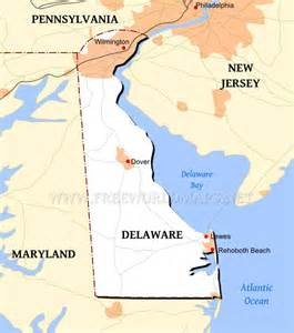 united states map delaware delaware maps
