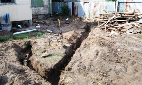 Plumbing Trench by Plumber Cited For Willfully Ignoring Cave In Hazards