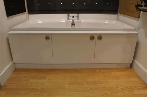 bathtub panel storage bath panel cabinet any colour finish