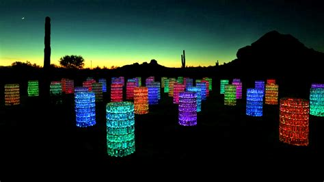 bruce munro field of light bruce munro sonoran light at desert botanical garden