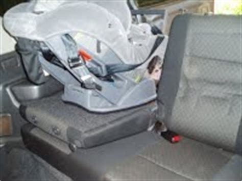 Suzuki Jimny Rear Seats Installing The Suzuki Jimny Infant Car Seat Rearward Facing