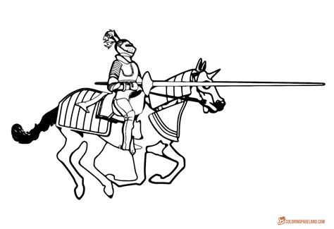 printable pictures knight on horseback knights coloring pictures download and print out for free