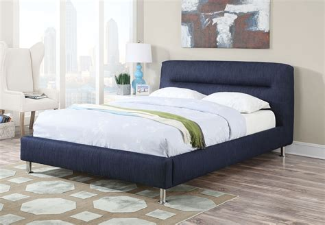 blue platform bed blue denim eastern king platform bed
