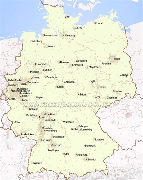 germany major cities map map of germany showing major cities bearsjerseysshop