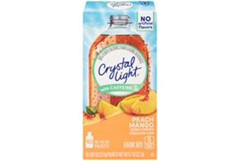 Light Caffeine by Light With Caffeine Mango On The Go Drink