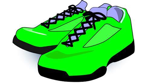 green tennis shoes clip at clker vector clip