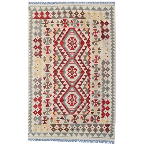 Afghan Kilim Rug With Symbols For Sale At 1stdibs Rug Symbols