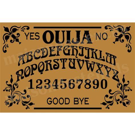 printable ouija board stencil ouija board ornate halloween 20x30 stencil