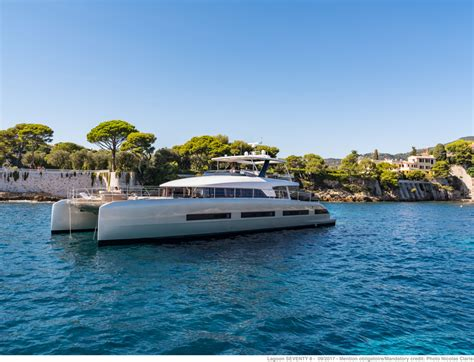 lagoon catamaran sale rental catamaran  luxurious yacht construction seventy  seventy