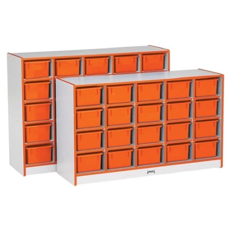 Cubby Furniture by Rainbow Accents 20 Tray Mobile Cubbies Jonti Craft