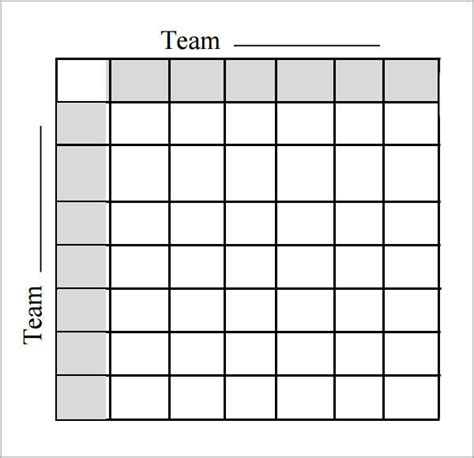 Free Football Square Template by Free Sle Grid For Bowl 2015 Autos Post