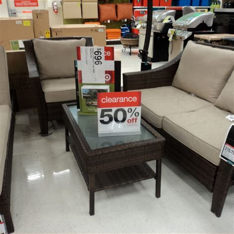 Target Outdoor Patio Furniture Clearance Patio Furniture Target Clearance