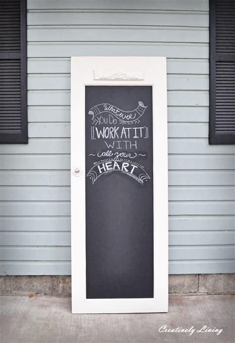 chalk paint door ideas tip 26 doors as chalkboards the design tabloid