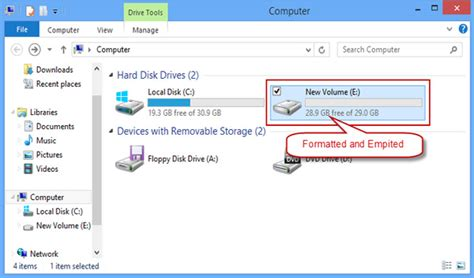 format hard drive computer management how to format a hard drive on windows 8