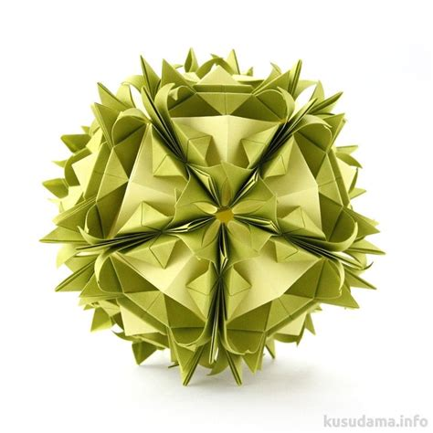 Origami Modular Flower - 17 best images about origami kusudama etc on