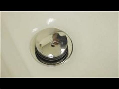 how to stop a bathtub drain bathroom repair how to repair a pop up tub drain stopper youtube