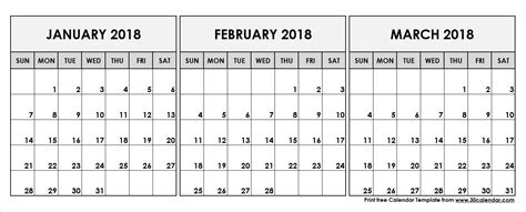 Calendar 2018 February And March February March 2018 Calendar Printable Journalingsage