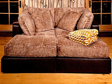 Lovesac Sactional Covers - lovesac lounger with reversible fox phur