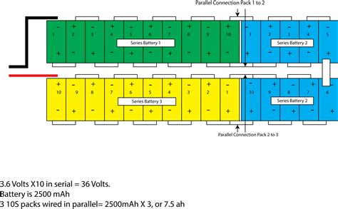 battery series wiring diagram speaker wiring diagram