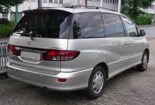Toyota Privia File Toyota Previa Facelift Rear Jpg
