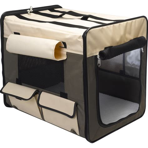 travel crate outdoor paws puppy fabric travel pod pet car transport cing crate ebay