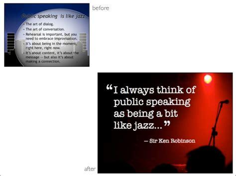 zen design powerpoint before after slides from presentation design expert garr