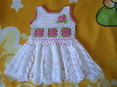 como tejer a crochet vestido para nia 12 youtube vestido para ni 241 a tejidos a crochet parte 1 youtube
