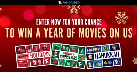 Automatically Enter Sweepstakes - fandango a year of free movies sweepstakes