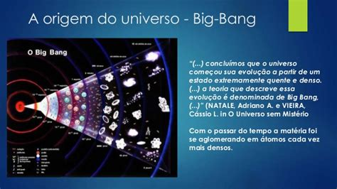 how to do a big bang o universo segundo a vis 227 o esp 237 rita