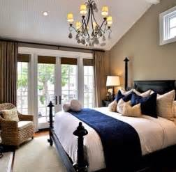 Navy blue and beige bedroom foxchase pinterest