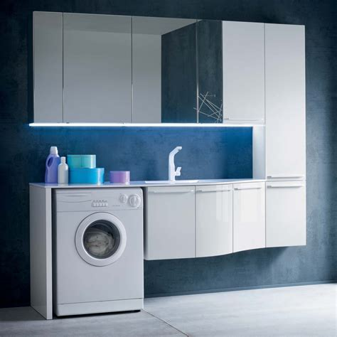 mobili bagno lavatrice mobile bagno con vano lavatrice n29 atlantic arredaclick
