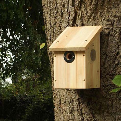 wildlife world colour and infrared camera wild bird nest box