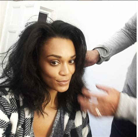hairstyle photos of pearl thusi pearl thusi s hair transition people magazine