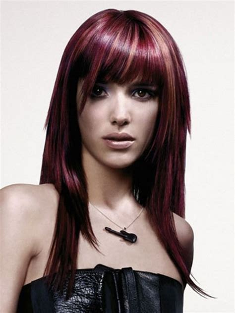 unique hairstyles and colors 17 best images about hair color color placement on