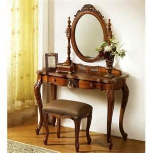 Wooden Vanity Set Wooden Classic Vanity Set Anqitue Bedroom Vanity