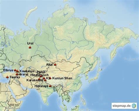 Asiat Gebirge by Karte Eurasien Karte Eurasien Karte Eurasien Eurasien